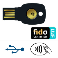 FIDO U2F Security Keys secure website access login dongle