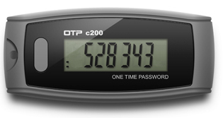 OATH TOTP One-Time Password time-based key fob token