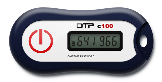 OATH HOTP One-Time Password event-based key fob token