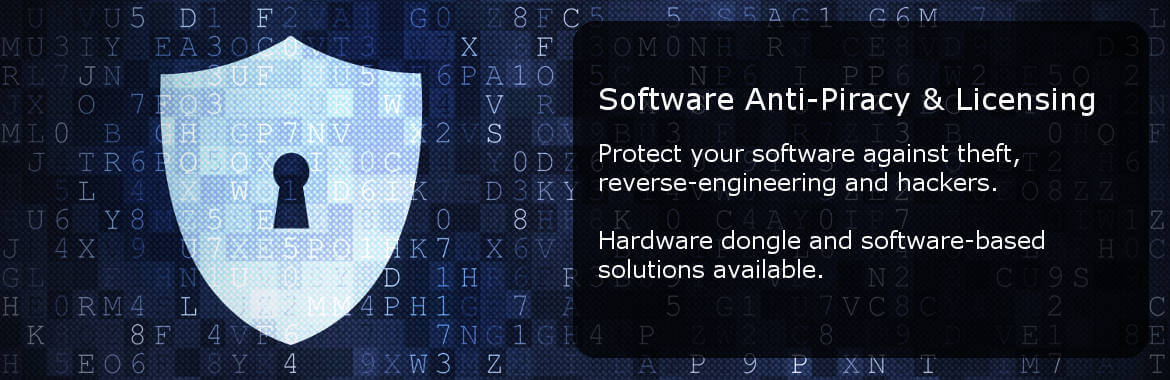 Software copy protection & licensing. Protect your software against theft, reverse-engineering and hackers. Add licensing features to your software.