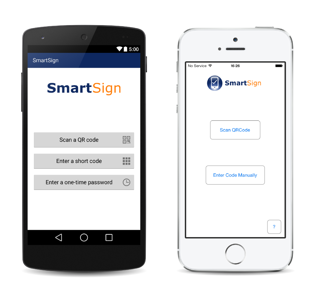 Two-Factor Authentication for Android and iOS
